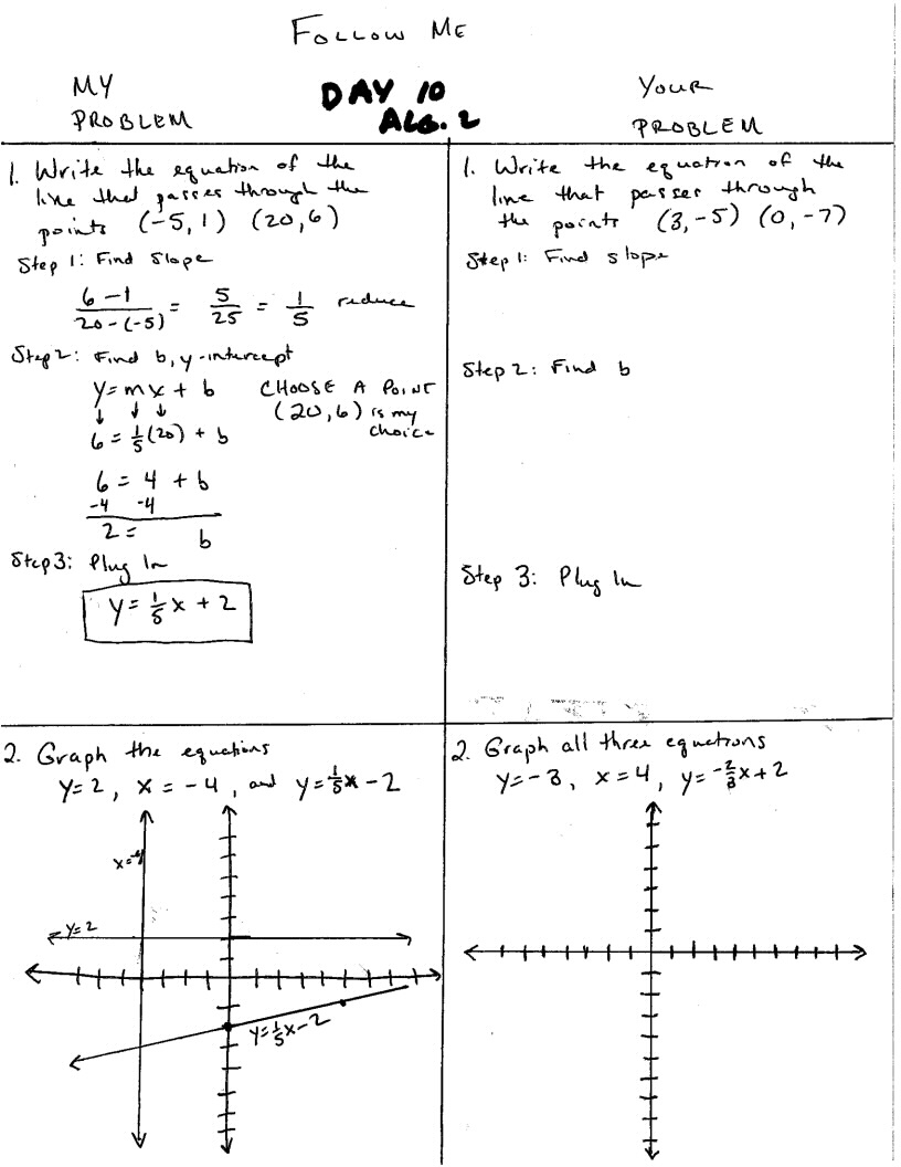 This is an extra practice worksheet for Algebra 2 or Precalculus ...